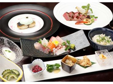 \素材へのこだわり/ 漁港から直接仕入れた鮮魚や珍しい食材も使用。 本格手作り料理をカジュアルに楽しめます♪