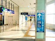 \*羽田空港内*/未経験OK!一緒に働くStaffもいるので安心◎外国のお客様との新しい出会いがたくさん★.。