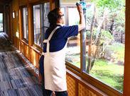 接客ナシでモクモクお仕事◎ 客室のお掃除や、布団上げ、皿洗いなど 旅館の裏方のお仕事です★