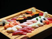 \寿司好き必見/絶品のお寿司が[まかない]で食べられます◎メニューはそのときによるので、毎回楽しみですね♪