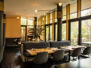 ☆上質なオトナの雰囲気☆ 《DEAN & DELUCA》が手掛けるレストラン。 駅直結で便利×毎日ワクワクできる環境!