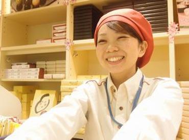 【スイーツ販売】<上野駅構内>スイーツの売り子さん♪お客様の笑顔がやりがいになります◎みんなが知ってる有名なお菓子も販売◆+゜