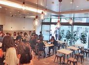 大阪支社では4月に社員食堂がオープン♪Cキャリアにお越しの際はぜひご利用下さい◎