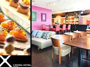 ホテル内レストランでの簡単なお仕事です♪素敵な環境で、接客マナーやスキルも身につく☆