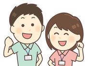 <宿直の不安もひとっ飛び◎> (1)提携している病院・看護師さんがいます! (2)休憩時間もたっぷり5時間! これなら安心◎