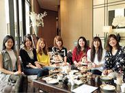 スタッフ表彰イベント開催☆ベストスタッフには半期に一度、有名ホテルのAfternoon tea partyにご招待♪
