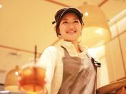 やる気があれば経験・スキルは問いません★明るく元気なスタッフ活躍中♪ 料理・食べるのが好き!そんなあなたにおすすめです*