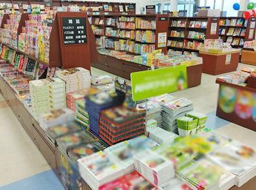 ~♪岡崎市に新店舗OPEN♪~ 地域密着型の本屋さんで接客バイト! ≫≫接客経験がない方もOK!