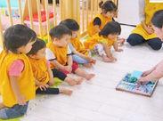 """定員12名の小規模保育園♪子供一人ひとりにしっかりと目の行き届く小さな保育園ならではの""""家庭的""""な環境です★*"""