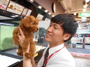◆スタッフはみんな動物が大好き!動物が好き!興味のある方!未経験の方大歓迎です