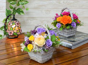 未経験からのチャレンジ大歓迎♪お花が好き、その気持ちがあればOK!お気軽にご応募下さいね◎