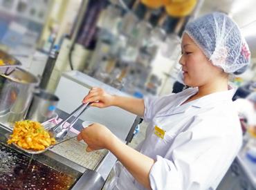 【キッチンSTAFF】『一人暮らしを始めるけど、お料理とかできるかな…』>>>調理の基本が身につきます♪未経験OK!学生~主婦さんまで活躍中★