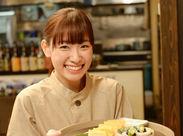 女性専用ブースも用意されている、落ち着いた雰囲気の和食レストランでホールスタッフ♪  ※写真はイメージです