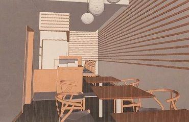 2階席の吹き抜けもあるお洒落な空間! イメージはnoodle terraceです☆