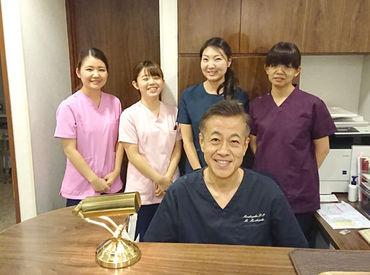 温かい雰囲気が自慢の歯科医院♪居心地が良いので学生時代にアルバイトからスタートして、社員になった方もいるんですよ◎