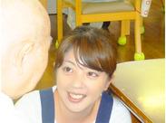 スタッフ&利用者さんの笑顔がイッパイの施設♪居心地が良いので長く続けるスタッフが多いんです◎