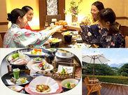 箱根湯本の高台にある自然溢れる静かなホテルです。お客様もスタッフもホッと落ち着ける空間です。