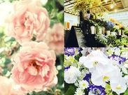 \中高年・シニアさん歓迎/ 札幌市内・近郊でお花を配達します♪幸せ・喜びをお届けするお仕事なので、やりがいも抜群です◎