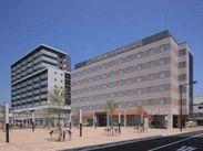 ☆超・駅チカ☆ 勝田駅から徒歩1分なので、通勤もラクラク♪ 清潔で高級感あふれるホテルです。