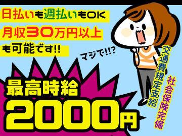 未経験スタートで初月から月収30万円以上!!