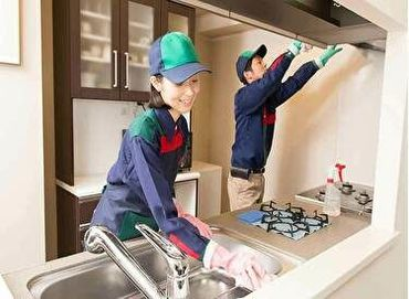 未経験からはじめる清掃のお仕事◎ 必要な資格はありません♪ 優しい先輩があなたをサポートします★