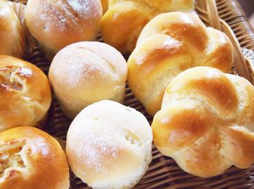 【ベーカリーSTAFF】★*。 ベーカリーSTAFF募集 。*★パンの作り方…コツ教えちゃいます♪<スーパー内勤務です>お仕事終わりのお買い物にも◎