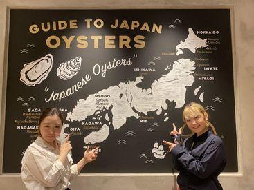 渋谷PARCO内でアクセスも抜群! オシャレで洗練されたデザインの店内で働けます♪