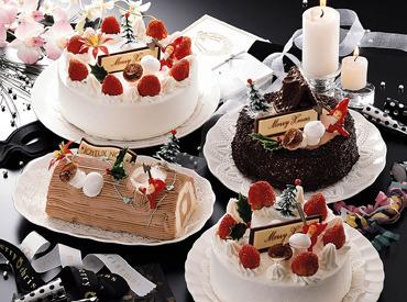 【クリスマスケーキの製造】ワクワクふわふわのケーキ作りに関われる*X'mas前の短期2日~★⇒ココロもお財布もぽかぽか♪選べる⇒【朝だけ/日中/夕方~】
