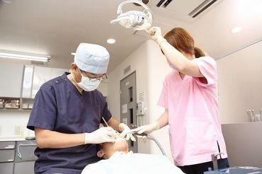 地元に愛される歯科クリニックです♪ アットホームな雰囲気で働けちゃいます☆