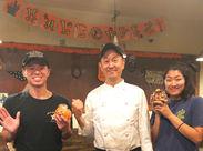 店長さんとスタッフはみんな仲良し☆ラストの時間まで勤務できる方大歓迎!