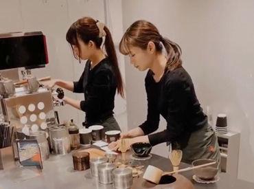 今話題!抹茶専門店【THE MATCHA TOKYO】 抹茶の匂いに包まれてお仕事♪こんなバイトここだけ★