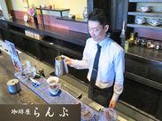 ☆早朝・夕方に勤務できる方を特に歓迎☆ カフェバイトが初めての方もご相談ください♪