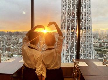 ≪國見 東京スカイツリータウン≫ ソラマチ31Fの和食屋♪シフト融通◎ 土日勤務できる方、大歓迎★