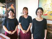 『マリオデザート』と同じ系列の オシャレカフェ&レストラン☆+* アジアンテイストな店内で、楽しくお仕事してみませんか♪