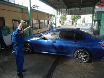 ≪高収入≫長期で安定してたくさん稼げます◎ 車が好き!洗車が好き!体を動かすのが好き!志望理由は何でもOK★