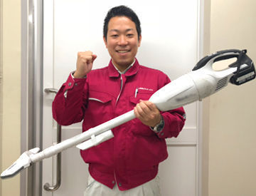 【未経験でもはじめやすいお仕事です!】慣れるまでは、スタッフが清掃の順番やエリア、道具の使い方まで丁寧にお教えします!
