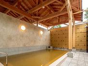 源泉かけ流しの『黄金の湯』…♪* 伊香保の温泉が楽しめるリゾートホテル! 落ち着いた雰囲気で、働きやすい環境です◎