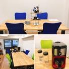≪音楽が流れる快適オフィス★≫ 飲み放題のコーヒーを飲みながら優雅にお仕事♪リニューアルしたてのオフィスは超お洒落!