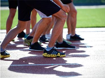 競技観戦はできませんが、 選手の頑張りを身近に 感じることができるお仕事です! ※イメージ画像