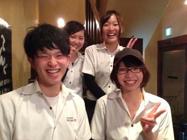 ★スタッフの8割が愛媛大学・松山大学の学生さん★ 「同年代の方が多く馴染みやすい」との声多数!