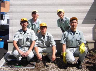 清掃未経験でも大丈夫◎頼れる先輩staff達がサポートします! お客様が気持ちよく利用できるよう、テキパキとお掃除しましょう♪