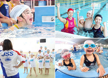 未経験から始めよう♪ スポーツが好き・人に教えるのが好き・水泳をしていた…など、始めるキッカケはなんでも大歓迎です★