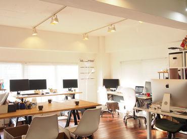 ≪落ち着いた雰囲気の事務所です♪≫ リラックスしながら作業に集中できる環境です!!