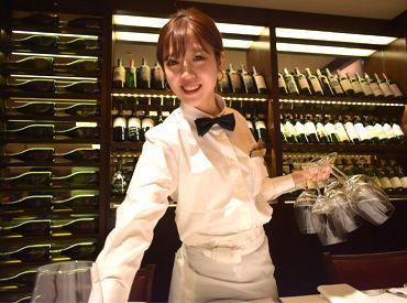 """高級感あふれる店内で""""極上のサービス""""を。 世界TOPクラスの味とサービスを肌で感じられる貴重な経験をしてみませんか!"""