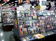 渋谷エリア最大級の中古レコード店◆働きながらお気に入りの1枚に出会えるかも♪シフトは自由◎プライベートとの両立も★