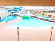 西尾市で人気のプール施設★ [ホワイトウェイブ21]の中でバイト募集♪