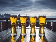 \ビール好きはもちろん/ 苦手な方や飲めない方も大歓迎♪ 「短期で稼ぎたいから…」など志望動機は不問です★