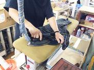 簡単なアイロン掛けや、機械を使ったワイシャツ仕上げで簡単!!初心者さんでもご安心くださいね◎
