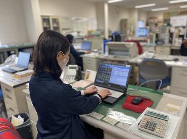 オフィスワークが初めてでもOK! まずは営業事務(電話対応や見積書作成)から始めて、 慣れてきたら営業のお仕事をお願いします!
