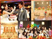 <#真っ白なチャペルが人気♪#アットホーム> 会場の写真です!新郎*新婦のHAPPYな結婚式づくりのお手伝いしてみませんか♪